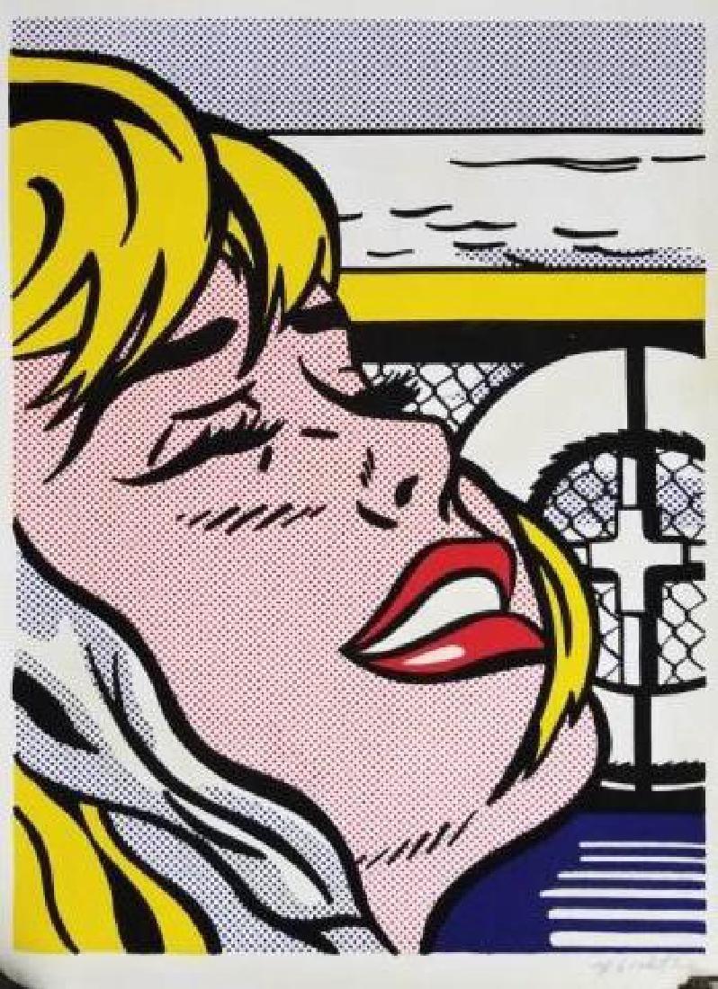 Roy Lichtenstein - Signed Pop Art Lithograph