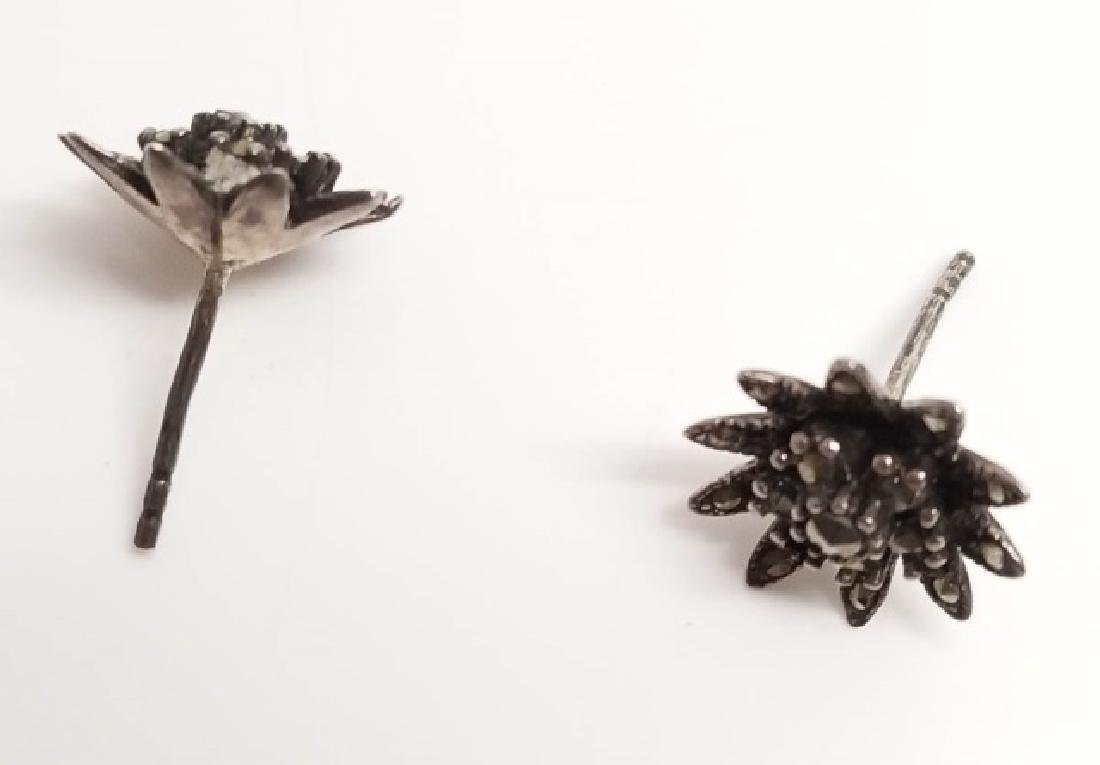 Estate Vintage Marcasite & Sterling Jewelry Items - 10