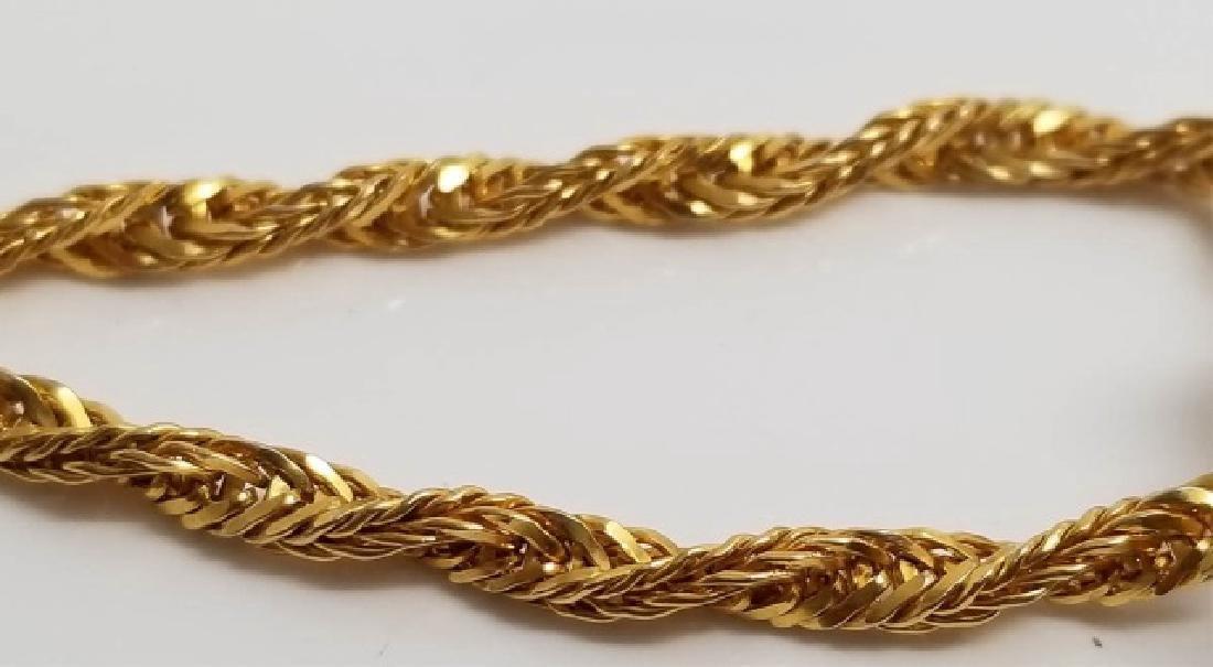 Vintage Modernist Style Amethyst Pendant Necklace - 4