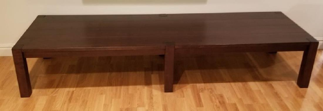 Custom Made Henry Beguelin Coffee Table / Bench