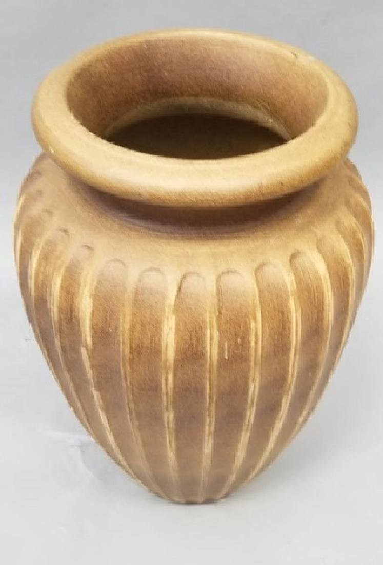 Large Contemporary Art Pottery Floor Vase - 4