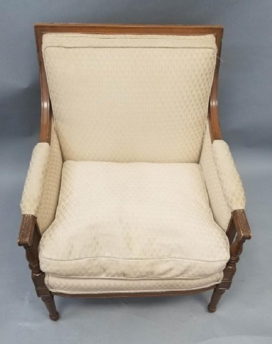 Mid Century Hollywood Regency Style Armchair - 3