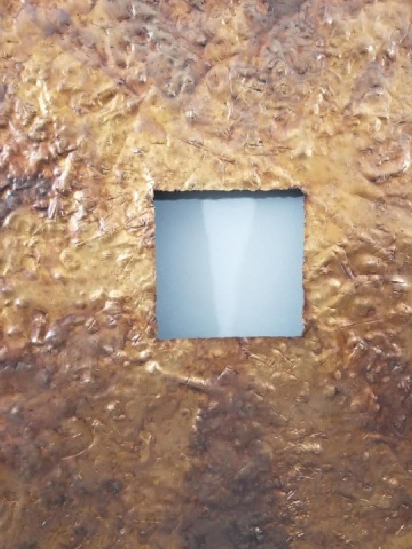 Clodagh Beaten Copper Wall Mount Bi Disk Art - 5