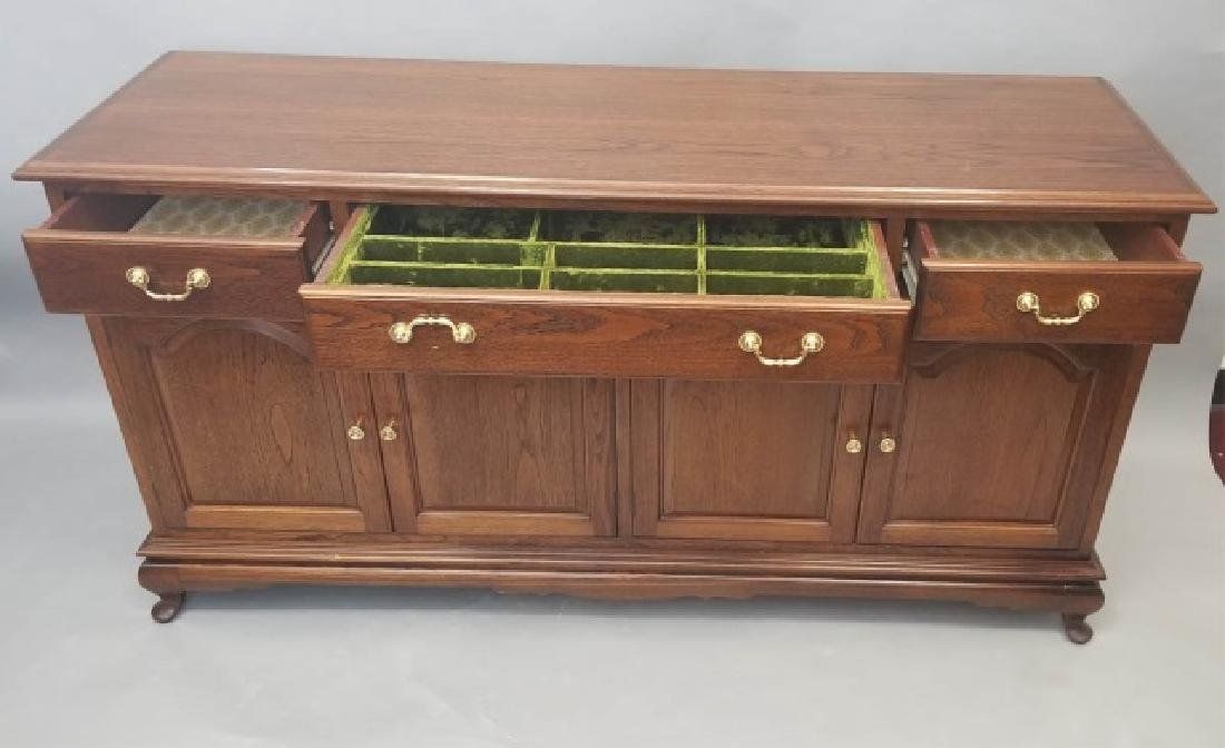 Contemporary Traditional Dining Cabinet Server