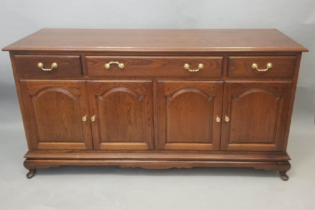 Contemporary Traditional Dining Cabinet Server - 7