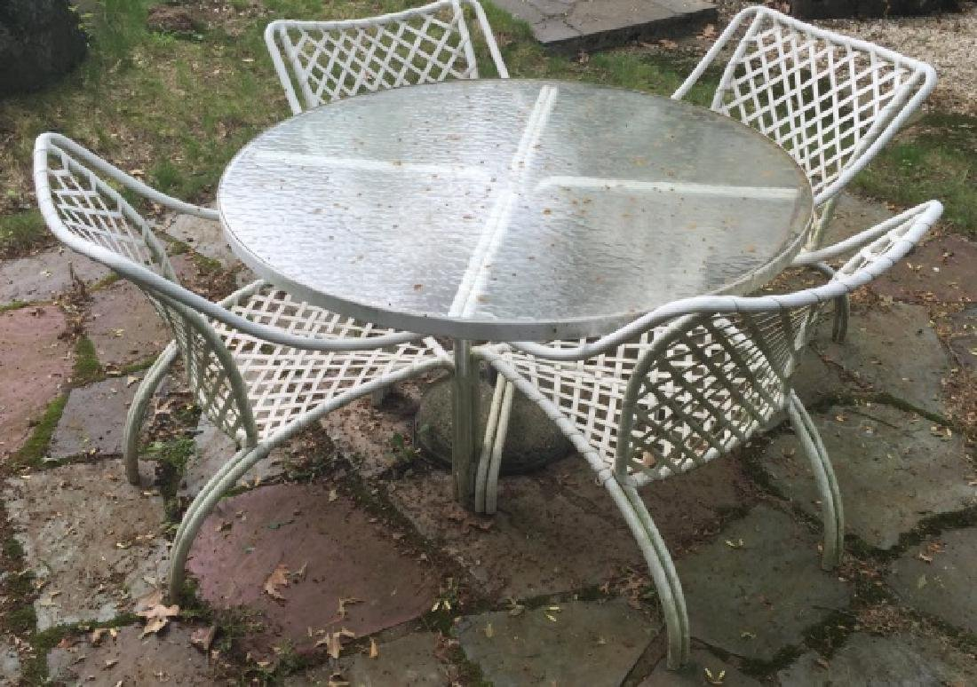 Brown Jordan Outdoor / Patio Dining Table & Chairs
