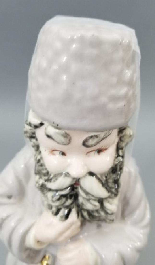 4 Ceramic & Glass Bottle Figurines Incl. Music Box - 2