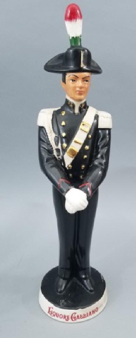 4 Ceramic & Glass Bottle Figurines Incl. Music Box - 5