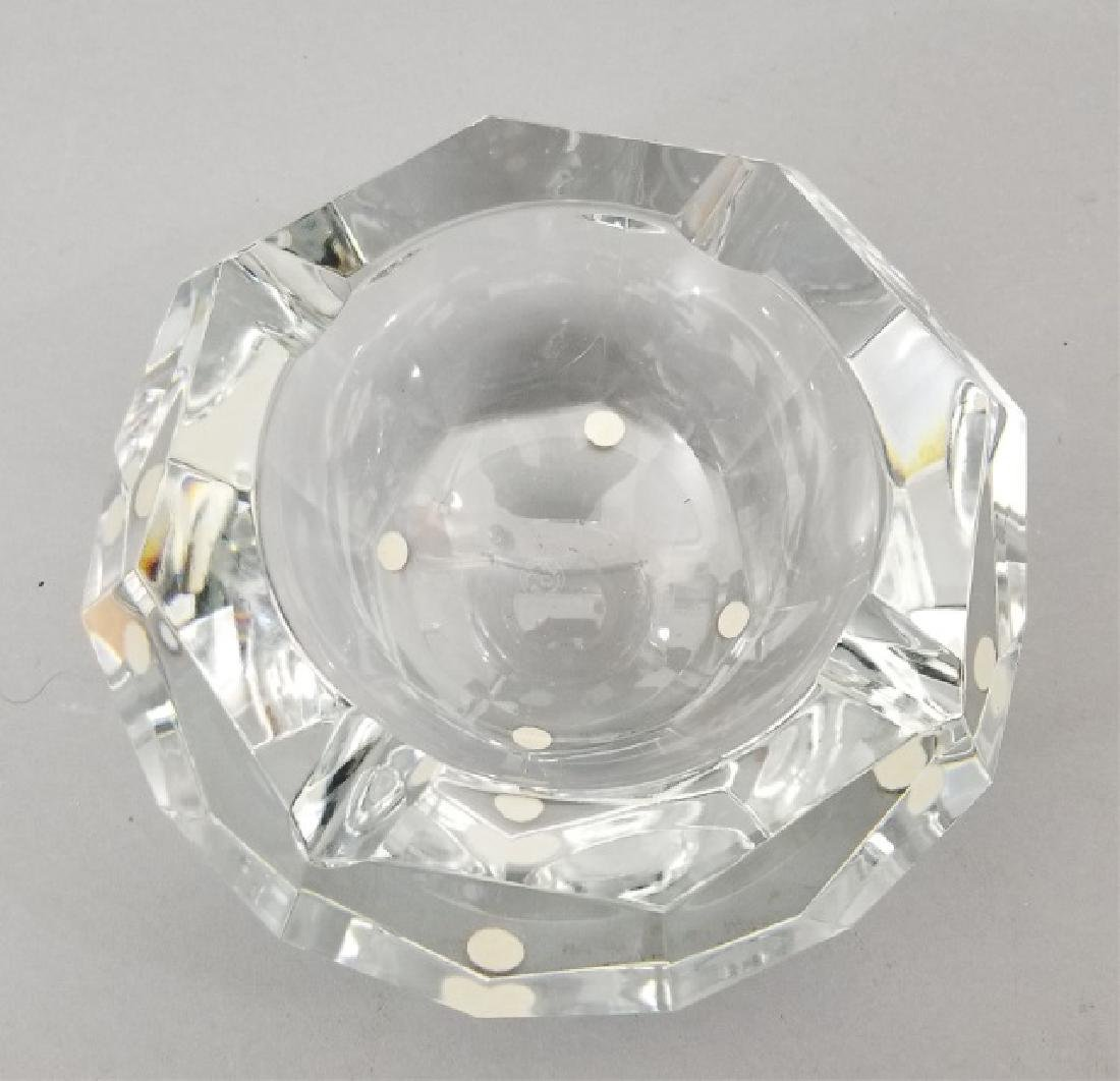 Baccarat France Cut Crystal Faceted Dish - 3