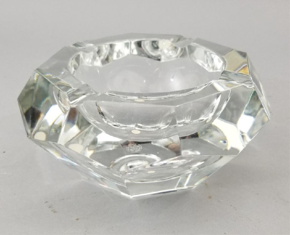 Baccarat France Cut Crystal Faceted Dish - 5