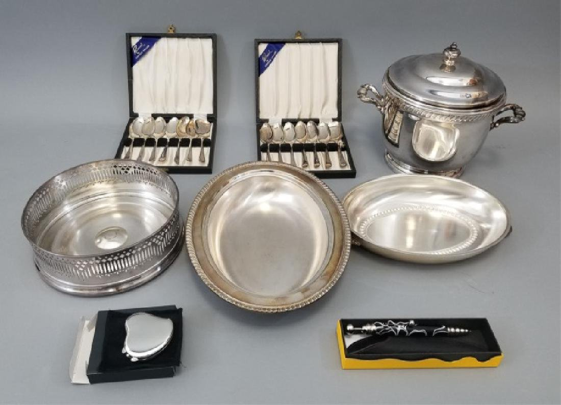 Collection of Silver Plated Items Incl Sheffield