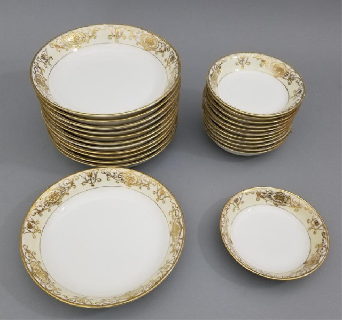 White & Gold Hand Painted Noritake Porcelain