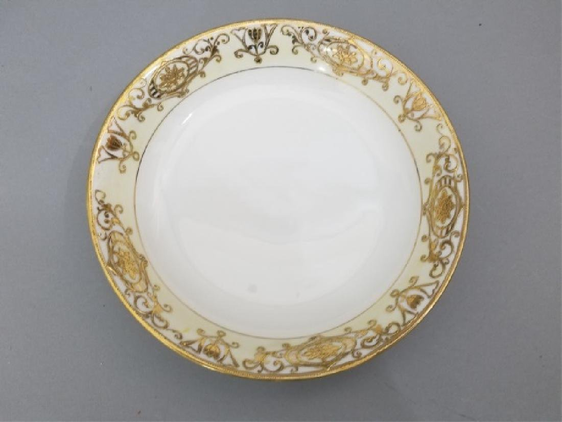 White & Gold Hand Painted Noritake Porcelain - 2