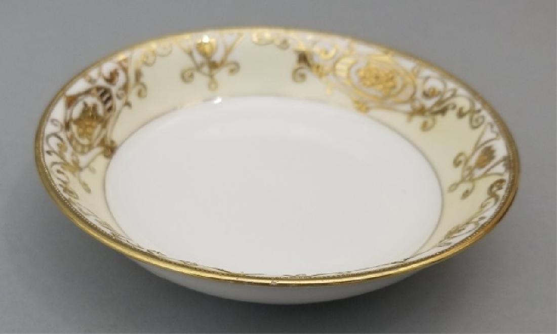 White & Gold Hand Painted Noritake Porcelain - 3