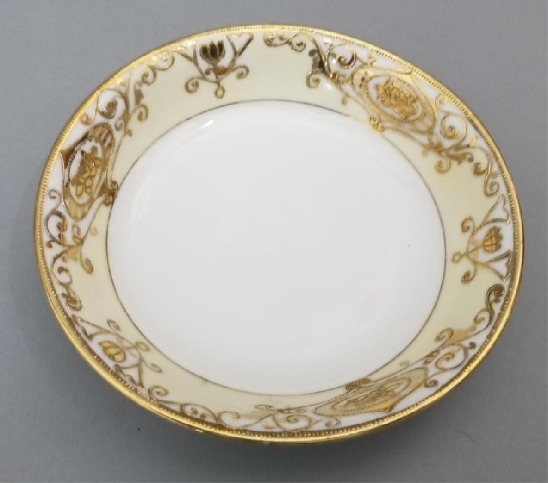 White & Gold Hand Painted Noritake Porcelain - 4