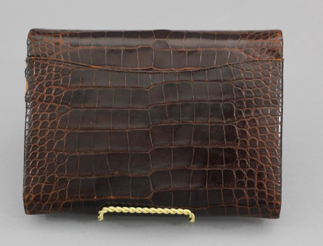Group of 3 Leather / Reptile Ladies' Clutch Bags - 2
