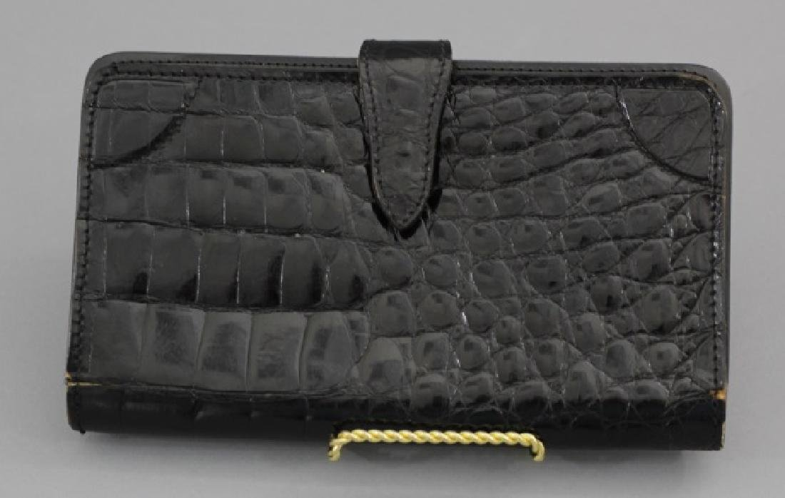 Group of 3 Leather / Reptile Ladies' Clutch Bags - 6