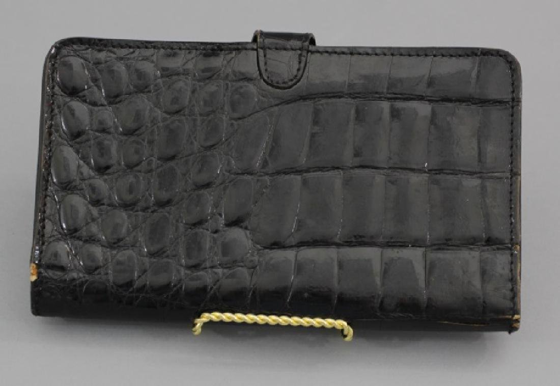 Group of 3 Leather / Reptile Ladies' Clutch Bags - 7