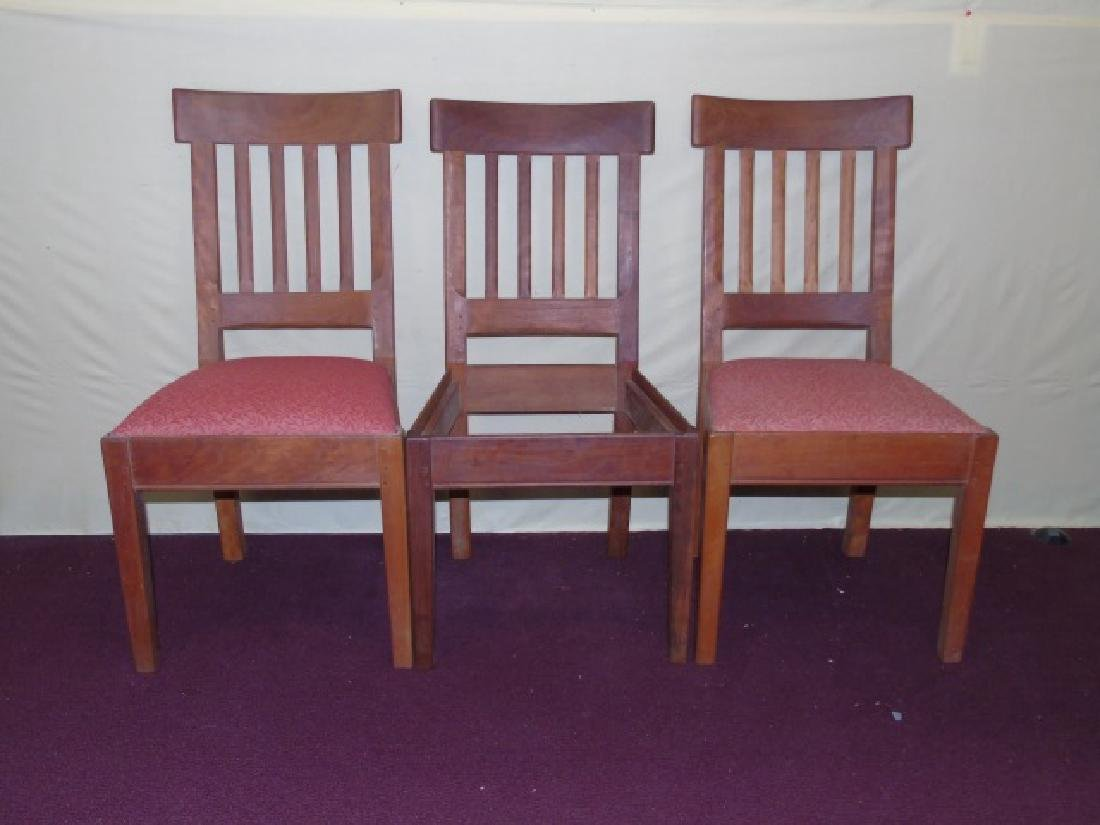Three Gustave Stickley Style Mission Chairs - 3