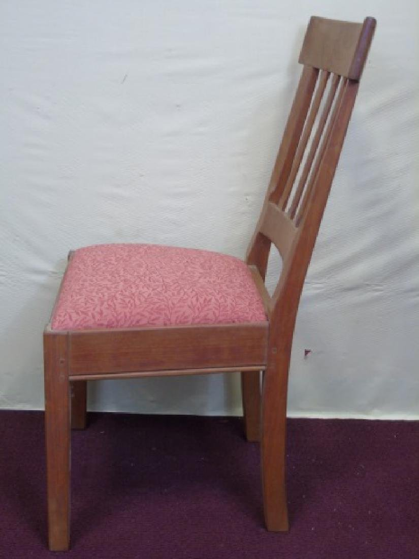Three Gustave Stickley Style Mission Chairs - 5