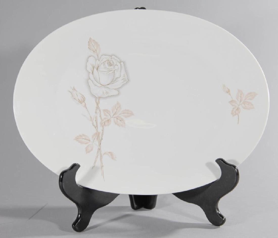 3 Rosenthal-Germany Oval Platters Classic Rose - 3