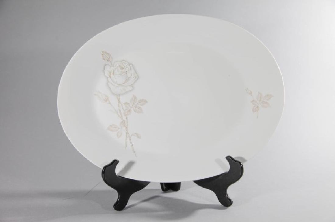 3 Rosenthal-Germany Oval Platters Classic Rose - 5