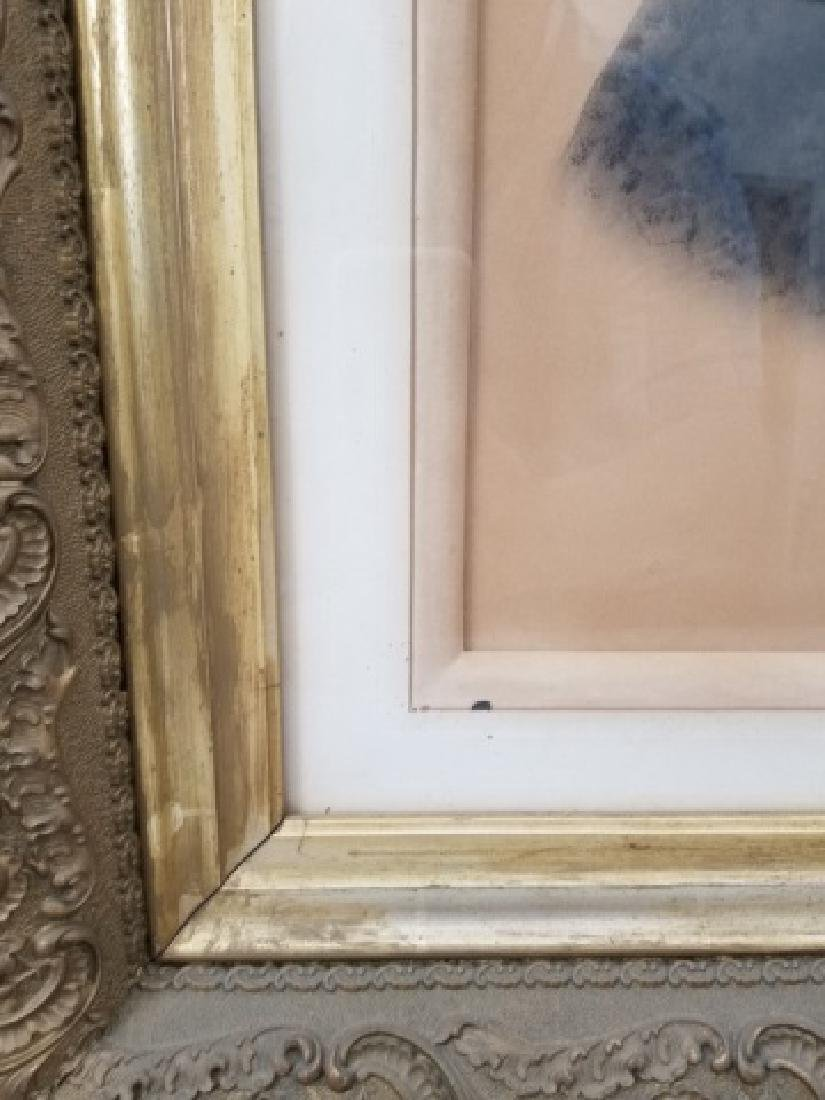Antique Photograph of Woman in Heavy Gold Frame - 2