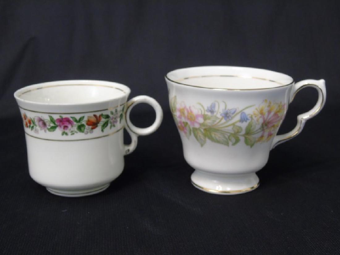 Assorted Limoges & English Porcelain Plates Etc - 2