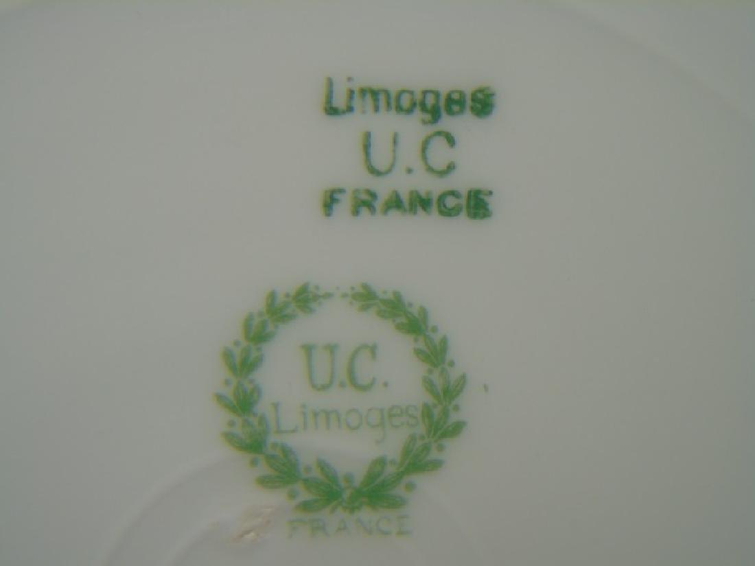 Assorted Limoges & English Porcelain Plates Etc - 4