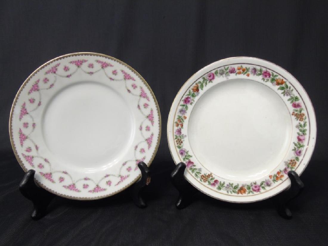 Assorted Limoges & English Porcelain Plates Etc - 5