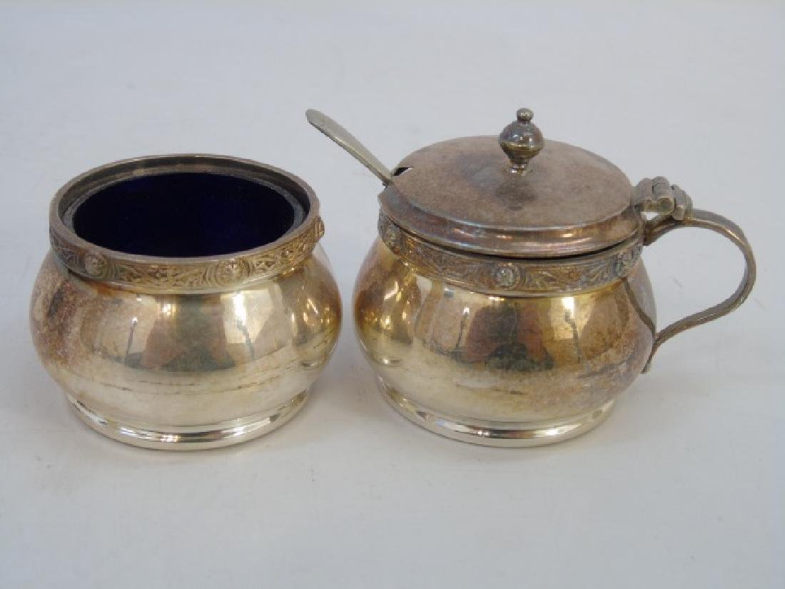 Garrard & Co Silver Plate Salt & Pepper Sets - 2