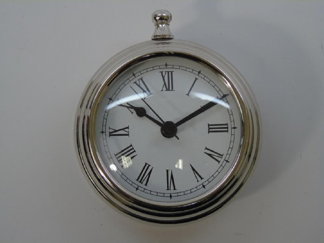 Assorted Tables - Clock & Designer Porcelain Items - 2