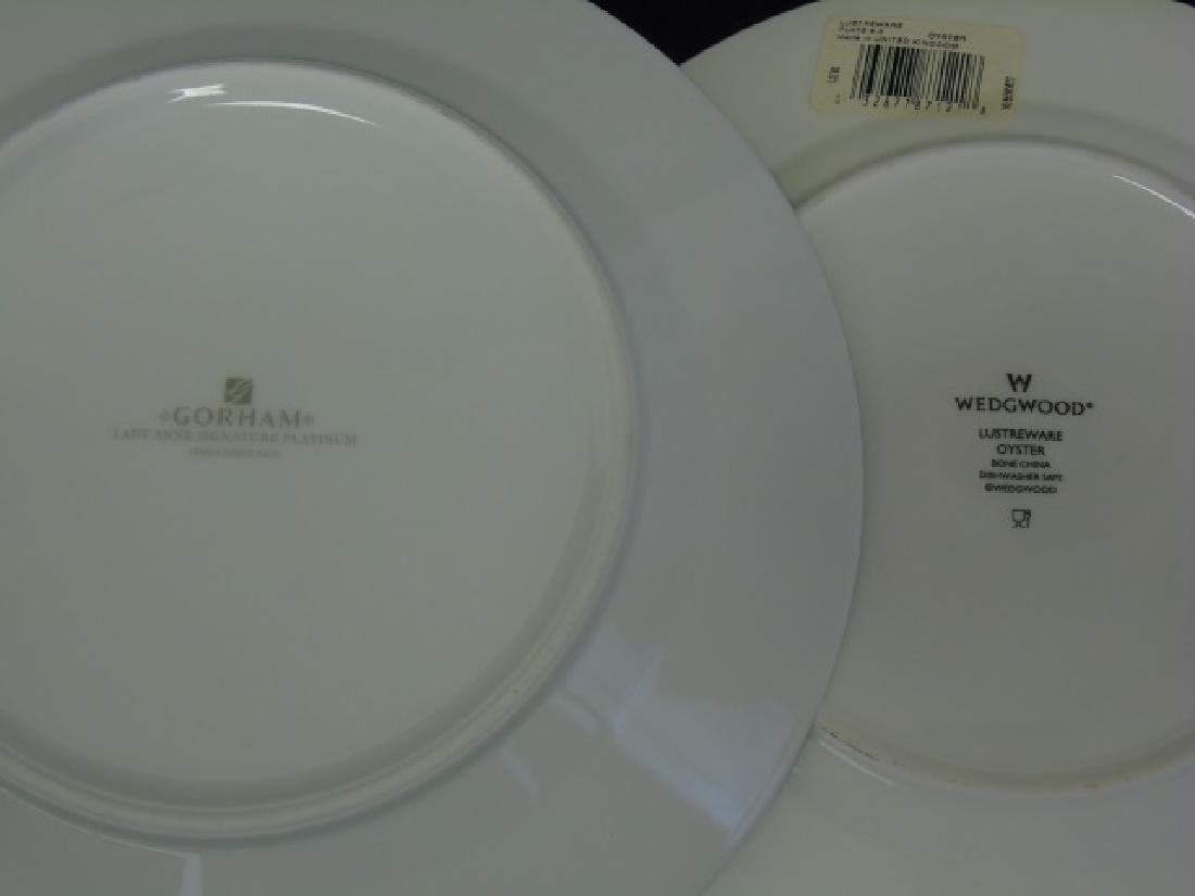 Assorted Tables - Clock & Designer Porcelain Items - 5