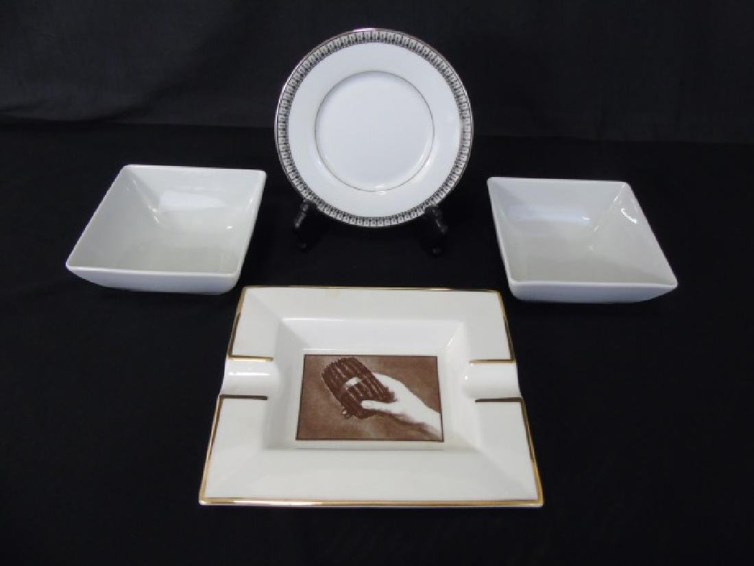 Assorted Tables - Clock & Designer Porcelain Items - 6