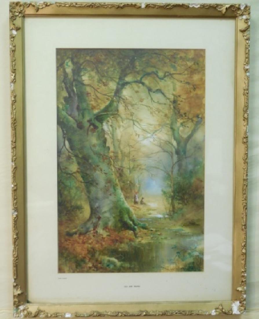 Thomas Tayler-Ireland Landscape/Lithograph