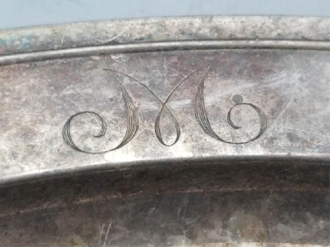 Large Gorham Solid Sterling Silver Oval Platter - 2