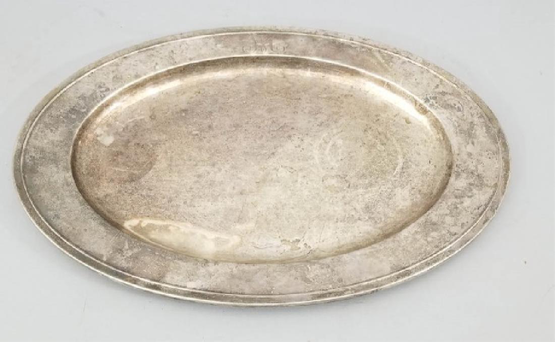 Large Gorham Solid Sterling Silver Oval Platter - 3