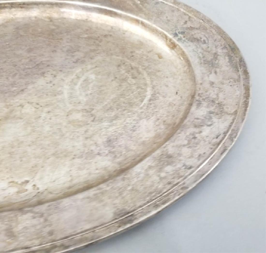 Large Gorham Solid Sterling Silver Oval Platter - 4