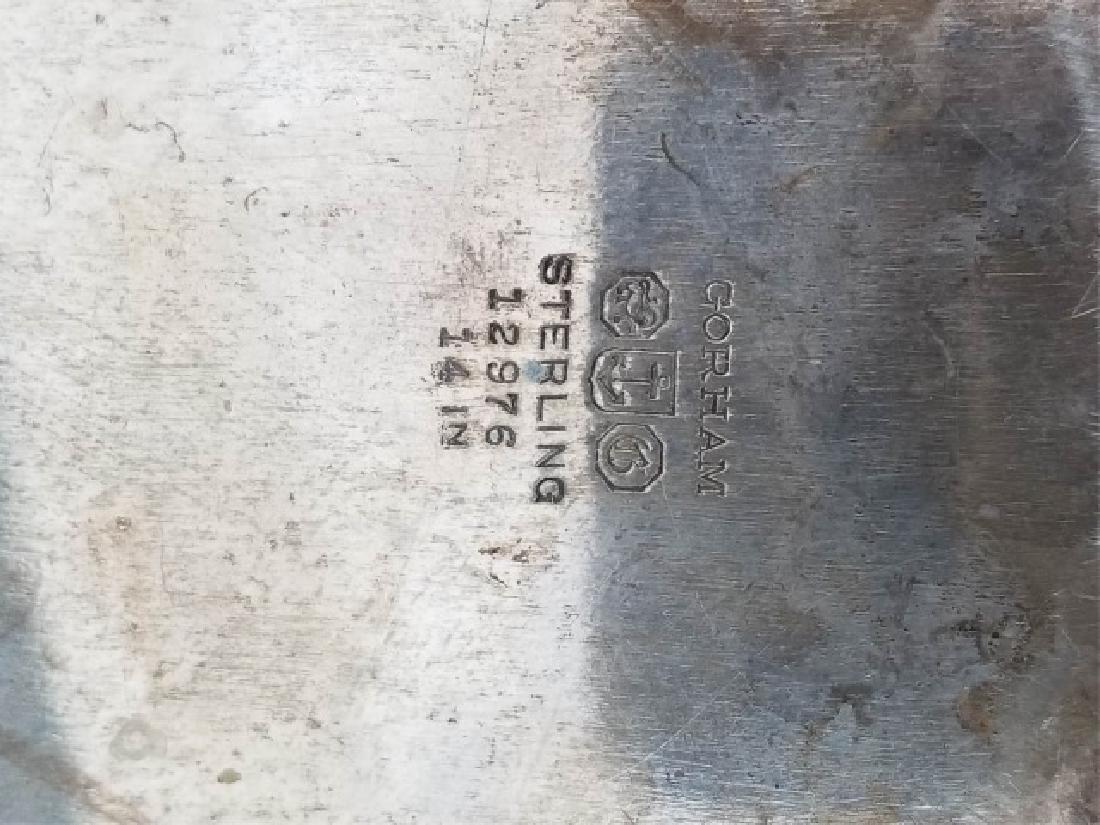 Large Gorham Solid Sterling Silver Oval Platter - 6