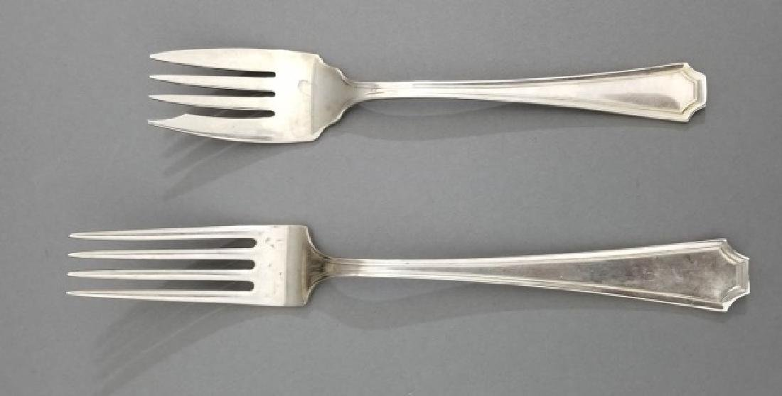 Gorham Sterling Silver Dinner Service for 8 - 4