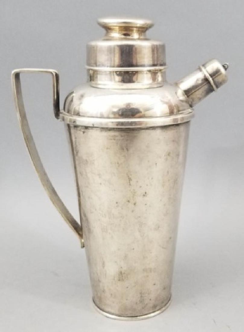 Art Deco Sterling Silver Martini / Cocktail Shaker