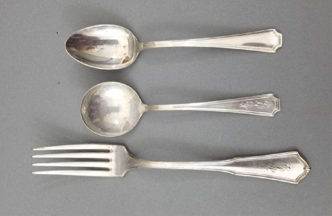 Assorted Gorham Sterling Silver Flatware Items - 9