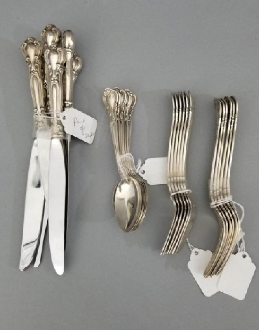 Gorham Sterling Silver Flatware Service for 6