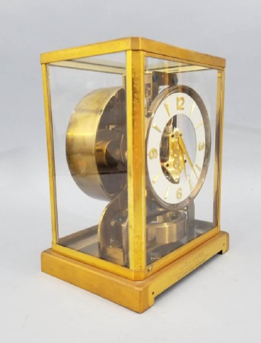 Le Coultre Atmos Gilt Metal Swiss Made Clock - 5