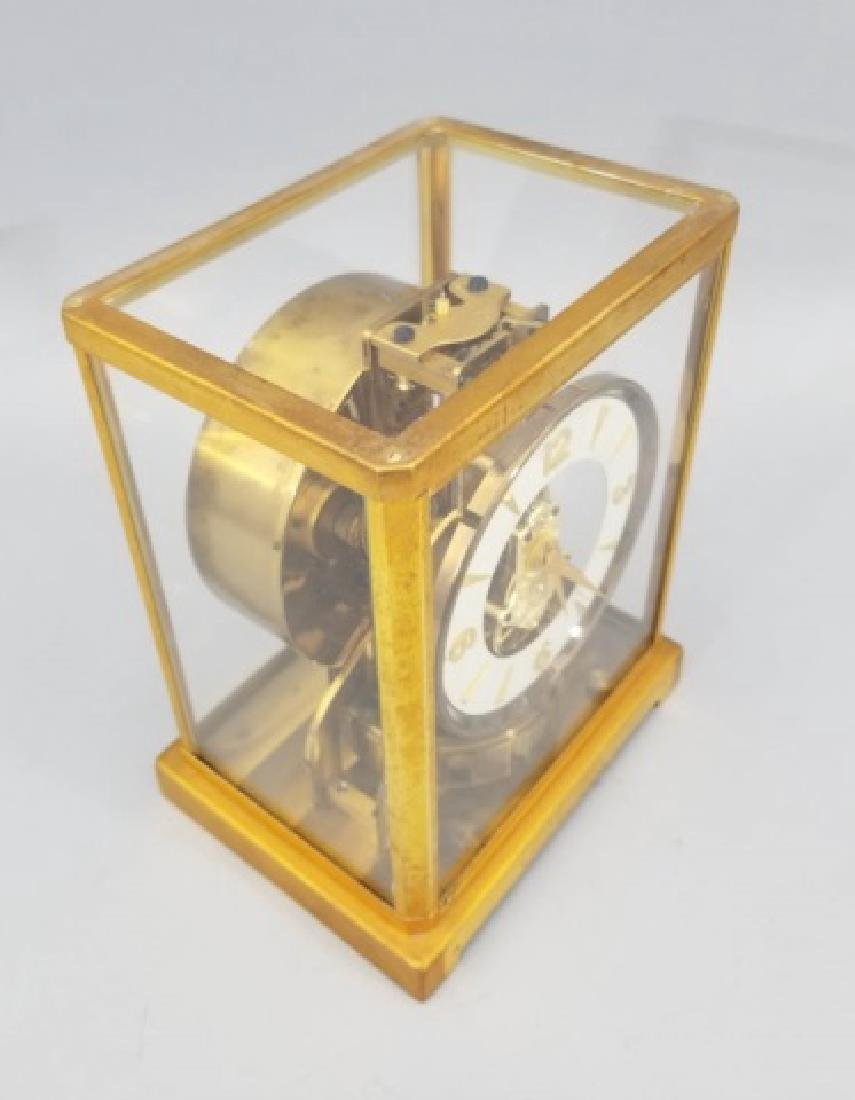 Le Coultre Atmos Gilt Metal Swiss Made Clock - 6