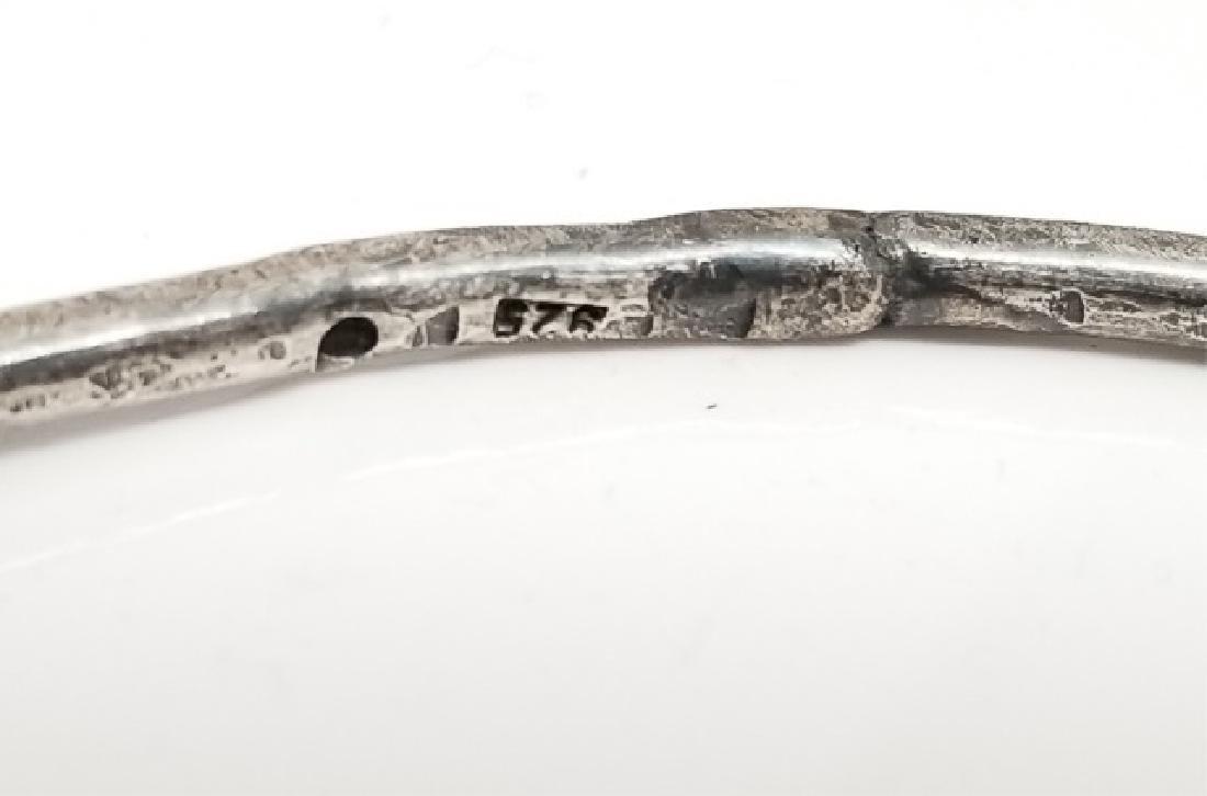 Sterling Handmade Bracelet & Claddagh Necklace - 3