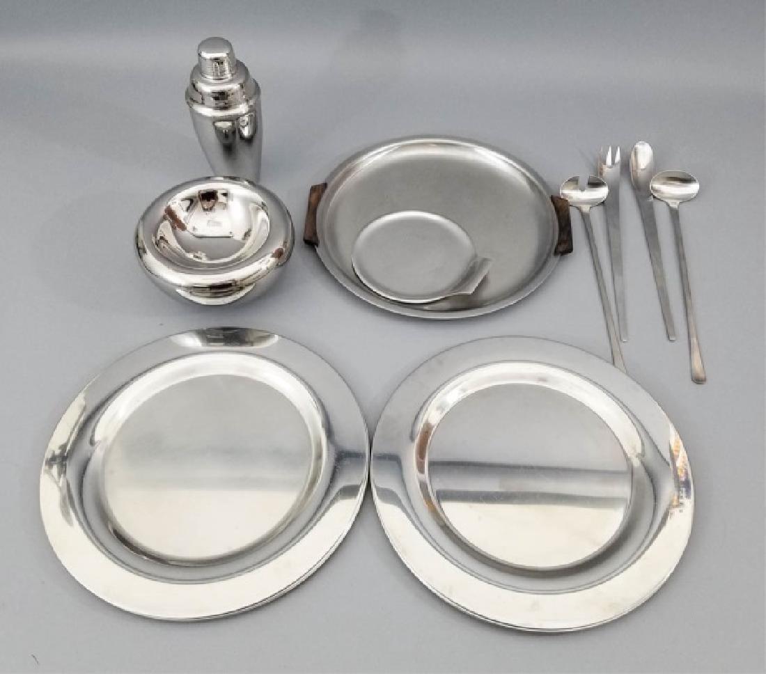 Georg Jensen Stainless Steel Serving Items & Xtras