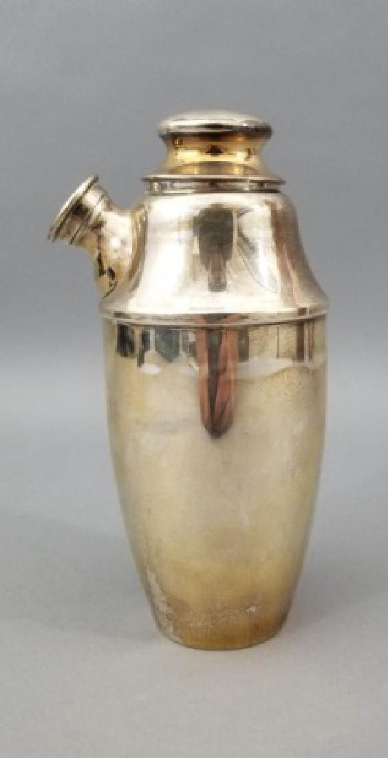 1933 Swedish Sterling Silver Martini Shaker