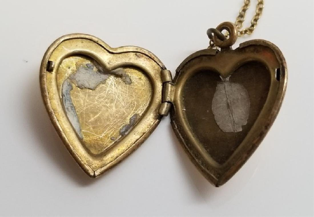 Four Estate Sterling Silver & Gold Filled Lockets - 2