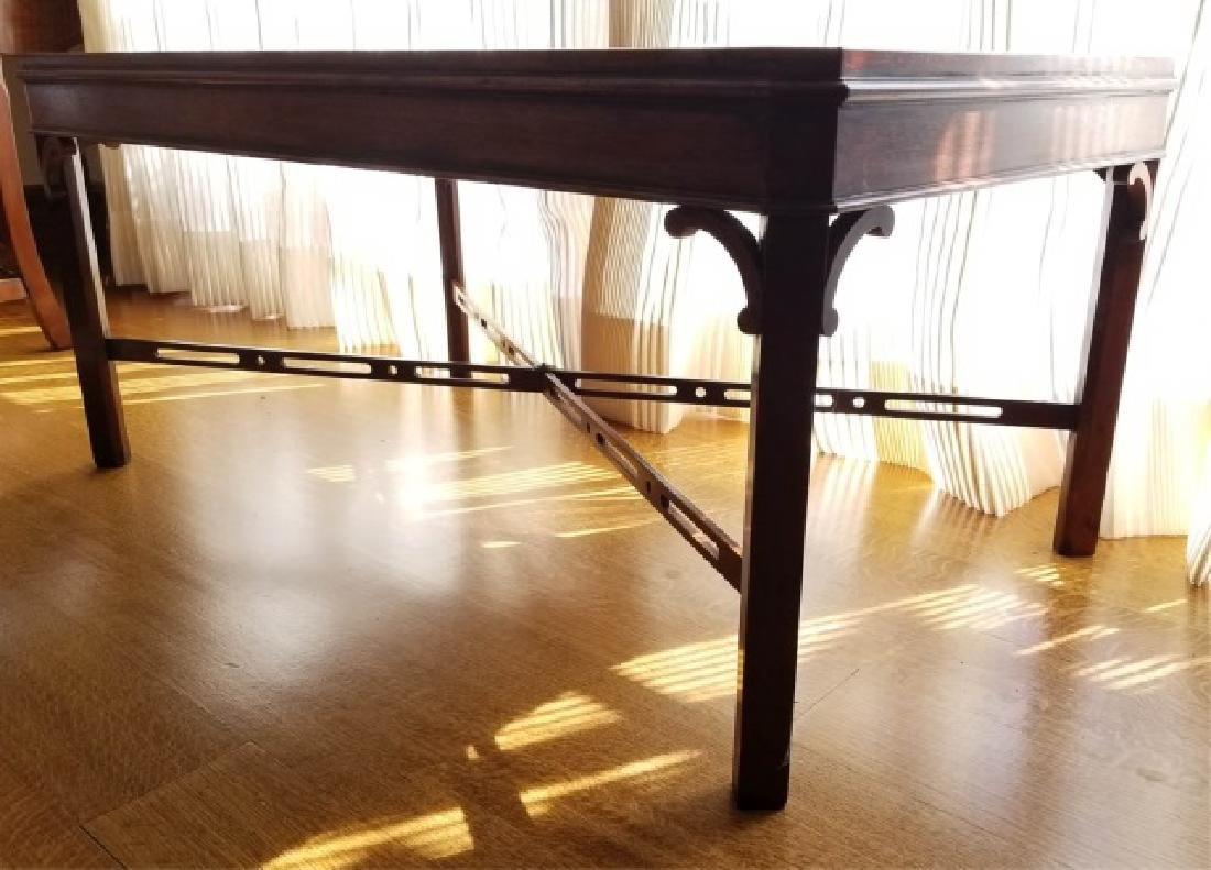 English Georgian Style Carved Coffee Table - 6